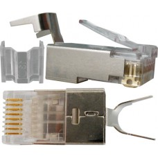 CAT6-6A RJ45 Shielded Plug - Pack of 100