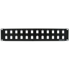 24 Port 2U Blank Patch Panel
