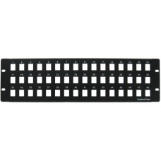 48 Port 4U Blank Patch Panel