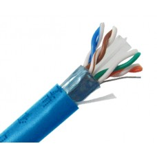 CAT6 Shielded CMR, 600MHz  Solid Copper, 24 AWG 1000FT