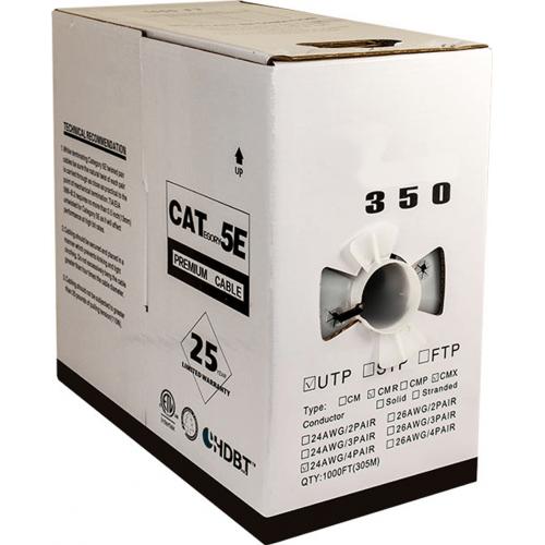 059 484 Cmx Cat5e Uv Rated Outdoor Cmx Utp 350 Mhz 24awg